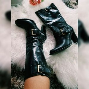 BP Leather Buckle boots